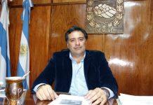 El intendente de Las Talitas, Carlos Najar