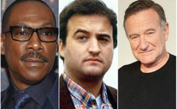 Eddie Murphy reveló un fuerte episodio que vivió junto a John Belushi y Robin Williams