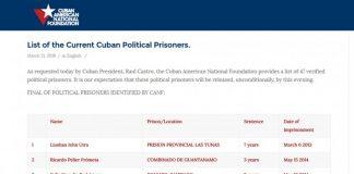 Obama le pidió a Raúl Castro por los presos políticos en Cuba.