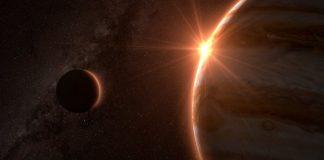 Júpiter y la Luna se alinearán esta noche a sólo un grado de distancia entre sí.