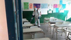 Control de plagas en escuelas