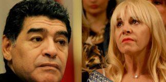 Diego Maradona habló con Jorge Rial en Intrusos de Claudia Villafañe.