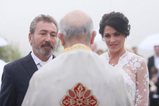 Pamela David y Daniel Vila se unieron en matrimonio tras varias años de convivencia.