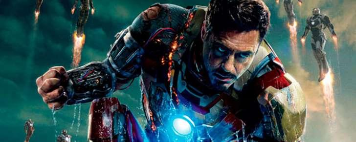 Robert Downey Jr. en la piel de Iron Man
