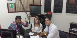 Jorge Luis Rodríguez Robledo en la radio LV7