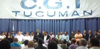 Unificación de la CGT tucumana