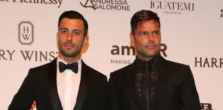 Ricky Martin y su novio sirio Jwan Yosef.