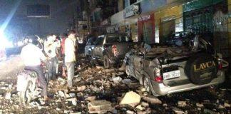 Un fuerte sismo de 7,8 se hizo sentir el sábado en Ecuador.