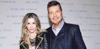 Marcelo Tinelli y Guilermina Valdés y una nueva crisis de pareja.