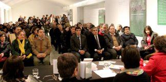 El intendente Alfaro en la presentación del libro