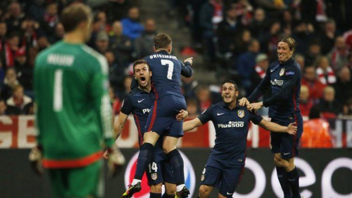 Atlético Madrid a la final de la Champions League