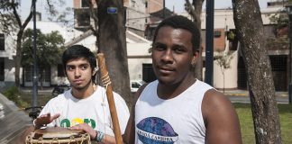 """""""Graduado Nago"""" es el precursor de la capoeira en Tucumán"""