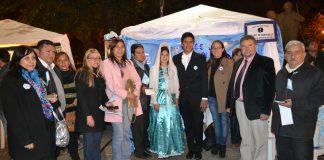 Paseo del Bicentenario en Alberdi