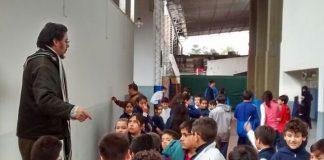 Jornada de muralismo escuela Gabriela Mistral