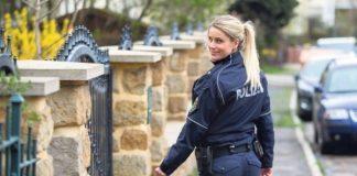 Adrienne Koleszar, la policía sexy alemana.
