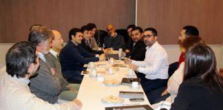 Reunion de la Secretaria de Produccion con diferentes organismos públicos y privados