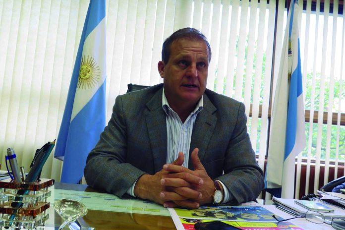 El presidente de la Caja Popular de Ahorros, Armando Cortalezzi