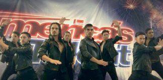 """El grupo argentino """"Malevo"""" hicieron delirar al público y al jurado del reality """"America's Got Talent""""."""