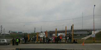 Pintan el acceso a la ciudad de Las Talitas