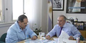 En uno de los tantos encuentros entre Alperovich y López para cerrar acuerdos por la obra pública