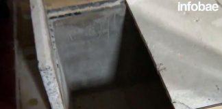 Debajo del altar y tapado con una alfombra se encontró en el convento una bóveda de grandes dimensiones.