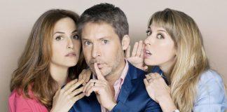 """Adrián Suar, Julieta Díaz y Florencia Bertotti son los protagonistas de la nueva ficción de PolKa """"Silencios de Familia""""."""