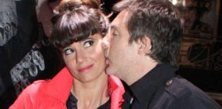 Griselda Siciliani estrenó su obra teatral Sputza y recibió la visita de su marido Adrián Suar.