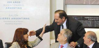 Alperovich junto a José López y De Vido