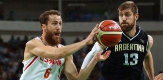 España venció a Argentina
