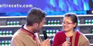 Una noche especial pasó la niña Constanza en el programa de Marcelo Tinelli.