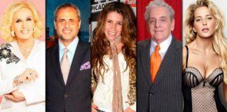 Se trata de una importante base de datos particulares de las celebridades argentinas que está circulando por la aplicación móvil.