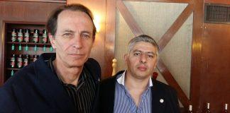Nicolás Kasanzew y Gustavo Villagra
