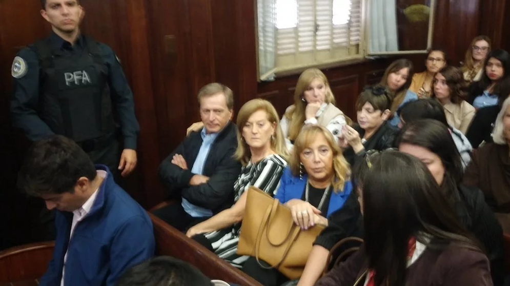 Betty Rojkés declaró en tribunales.