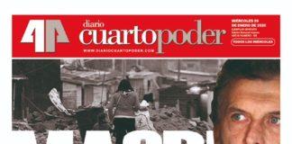 Tapa Macri sin valor y sin valores
