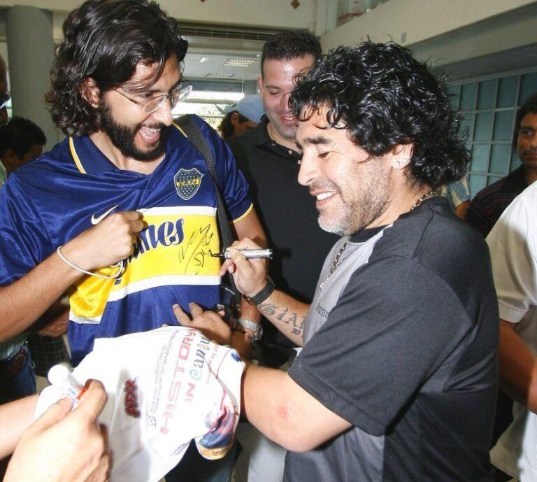 Luciano-Núñez-con-Diego-Maradona